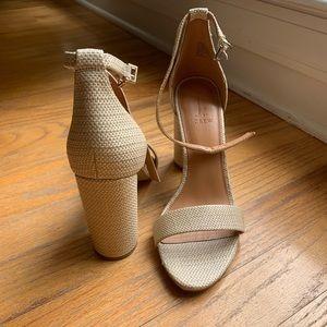 J Crew Factory heel sandals